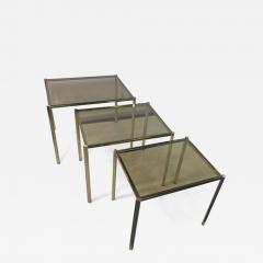 MODERN TRIO OF ITALIAN NESTING TABLES - 2060045