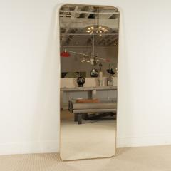 MODERNIST BRASS FRAMED MIRROR - 1845250