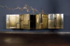 MUR Sideboard Hand Patinated Brass Masterpiece - 675895