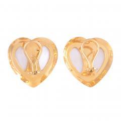 Mabe Pearl Heart Earrings - 1978359