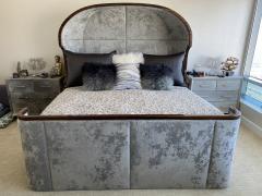 Macassar Ebony Canopy Bed - 1837468