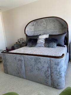 Macassar Ebony Canopy Bed - 1837469