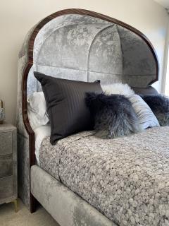 Macassar Ebony Canopy Bed - 1837471