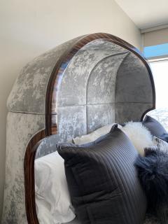 Macassar Ebony Canopy Bed - 1837472