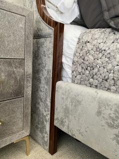 Macassar Ebony Canopy Bed - 1837473