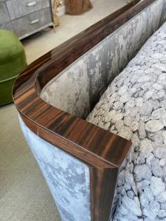 Macassar Ebony Canopy Bed - 1837475