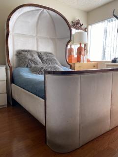 Macassar Ebony Canopy Bed - 1837476