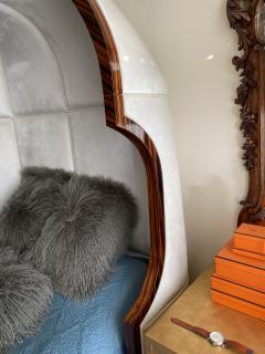 Macassar Ebony Canopy Bed - 1837478