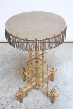 Machine Age Style Giltwood Occasional Table - 391521