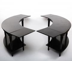 Madeleine Castaing Madeleine Castaing Pair of Side Tables with Foldable Ends  - 1122432