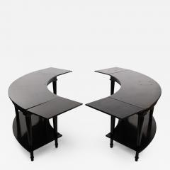 Madeleine Castaing Madeleine Castaing Pair of Side Tables with Foldable Ends  - 1123060