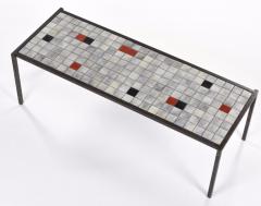 Mado Jolain Mado Jolain purest ceramic and iron coffee table - 2019907
