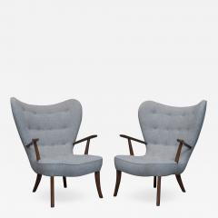 Madsen Sch bel Ib Madsen and Acton Schubell Lounge Chairs - 2093940