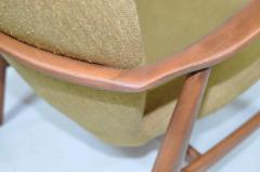 Madsen Sch bel Madsen Schubell High Back Danish Lounge Chair - 352223