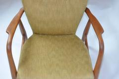 Madsen Sch bel Madsen Schubell High Back Danish Lounge Chair - 352225