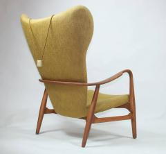 Madsen Sch bel Madsen Schubell High Back Danish Lounge Chair - 352226