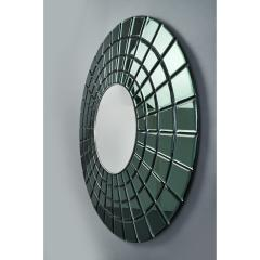 Magnificent Contemporary Mirror in Vintage Italian Glass - 1342407