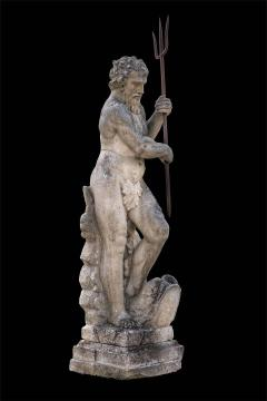 Magnificent Italian Fontaine Sculpture of God Neptune - 1507978