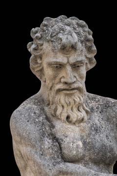 Magnificent Italian Fontaine Sculpture of God Neptune - 1507980