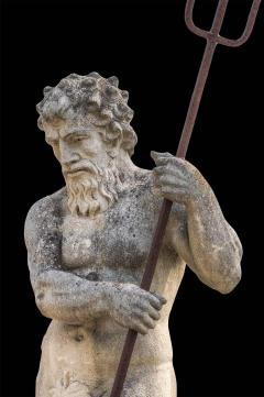 Magnificent Italian Fontaine Sculpture of God Neptune - 1507981