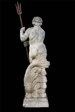 Magnificent Italian Fontaine Sculpture of God Neptune - 1507985