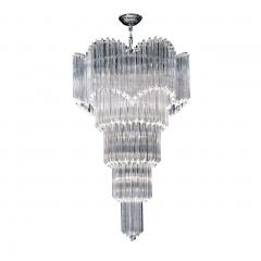 Magnificent Multitier Triedi Crystal Prism Chandelier - 1910395