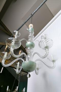 Magnificent Two Tiered Hand Blown Italian Murano Chandlier - 1776474