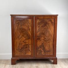 Mahogany 2 Door Cabinet England 19th Century - 1643358