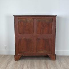Mahogany 2 Door Cabinet England 19th Century - 1643361