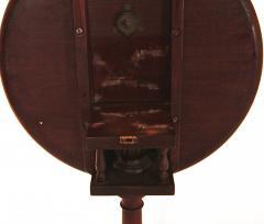 Mahogany Dish Top Candlestand - 1040854