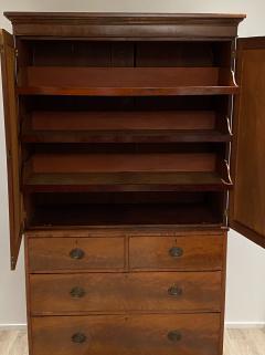 Mahogany Linen Press England circa 1810 - 1371938