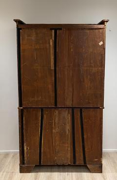 Mahogany Linen Press England circa 1810 - 1371940