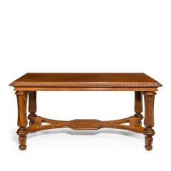 Mahogany centre table from Clumber Park seat of the 7th Duke of Newcastle - 1719754