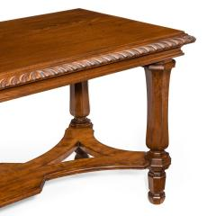 Mahogany centre table from Clumber Park seat of the 7th Duke of Newcastle - 1719755