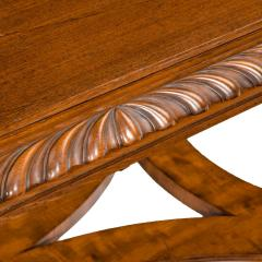 Mahogany centre table from Clumber Park seat of the 7th Duke of Newcastle - 1719756