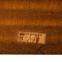 Mahogany centre table from Clumber Park seat of the 7th Duke of Newcastle - 1719757