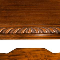 Mahogany centre table from Clumber Park seat of the 7th Duke of Newcastle - 1719758