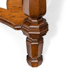 Mahogany centre table from Clumber Park seat of the 7th Duke of Newcastle - 1719760
