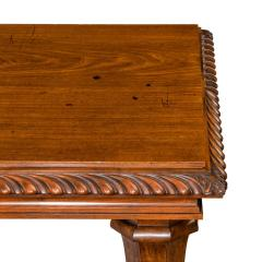 Mahogany centre table from Clumber Park seat of the 7th Duke of Newcastle - 1719761