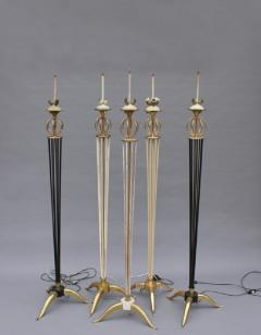 Maison Arlus 5 French 1950 s Floor Lamps by Arlus - 1377814