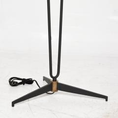 Maison Arlus French Floor Lamp style ARLUS FRANCE 1950s MODERN Sophisticate Steel Brass - 1634183