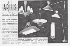 Maison Arlus Maison Arlus France orientable and adjustable floor lamp France 1950 - 1237316