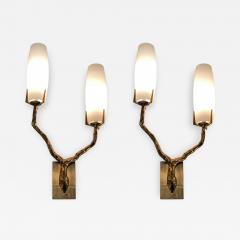 Maison Arlus Pair of Sconces by Maison Arlus France 1960s - 677906