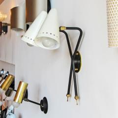 Maison Arlus Rare French Double Arm Wall Light by Arlus - 682199