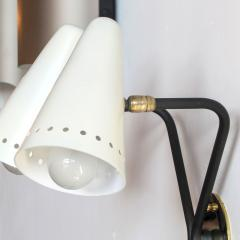 Maison Arlus Rare French Double Arm Wall Light by Arlus - 682202