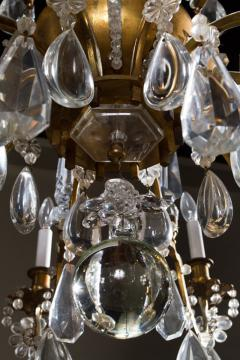 Maison Bagu s L 93 Important Pair of Crystal Chandeliers by Maison Bagu s - 259957