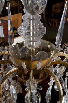 Maison Bagu s L 93 Important Pair of Crystal Chandeliers by Maison Bagu s - 259960
