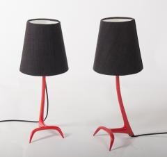 Maison Charles Matched pair of Stockholm table lamps by Maison Charles - 838200