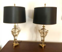 Maison Charles Pair of Maison Charles Table Lamps - 1792793