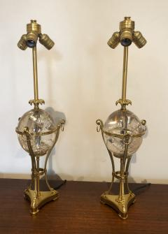 Maison Charles Pair of Maison Charles Table Lamps - 1792796